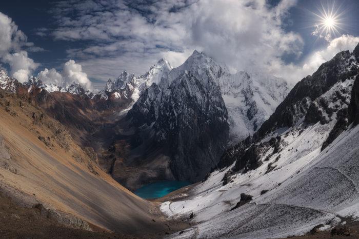 Trek fotográfico Cordillera Huayhuash Andes Perú