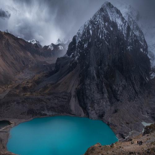 Paso Santa Rosa Cordillera Huayhuash
