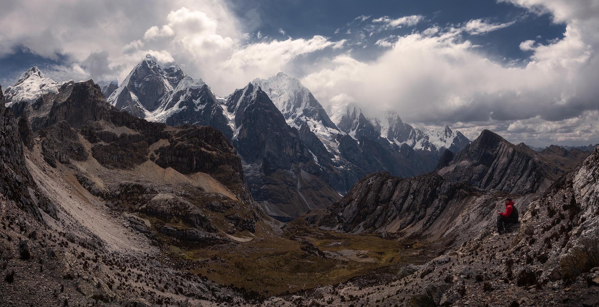 Paso Silua Cordillera Huayhuash