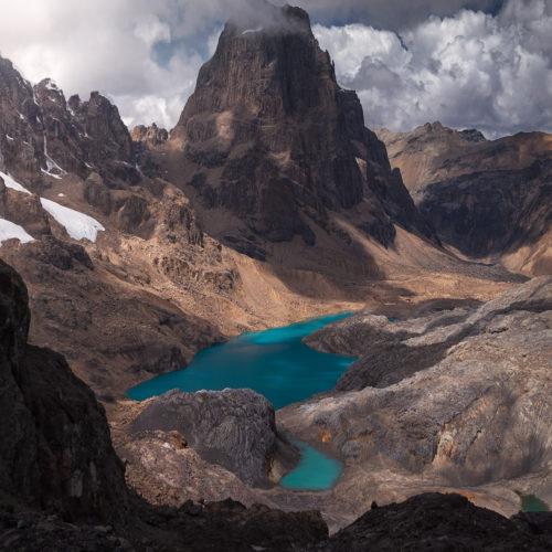 Paso Trapecio Cordillera Huayhuash