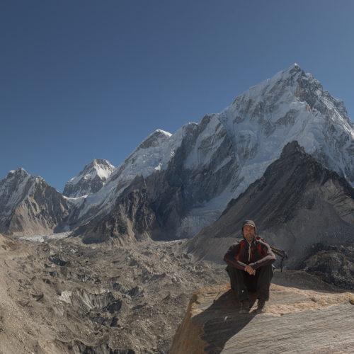 Valle de Khumbu en los alrededores del Campamento Base del Everest