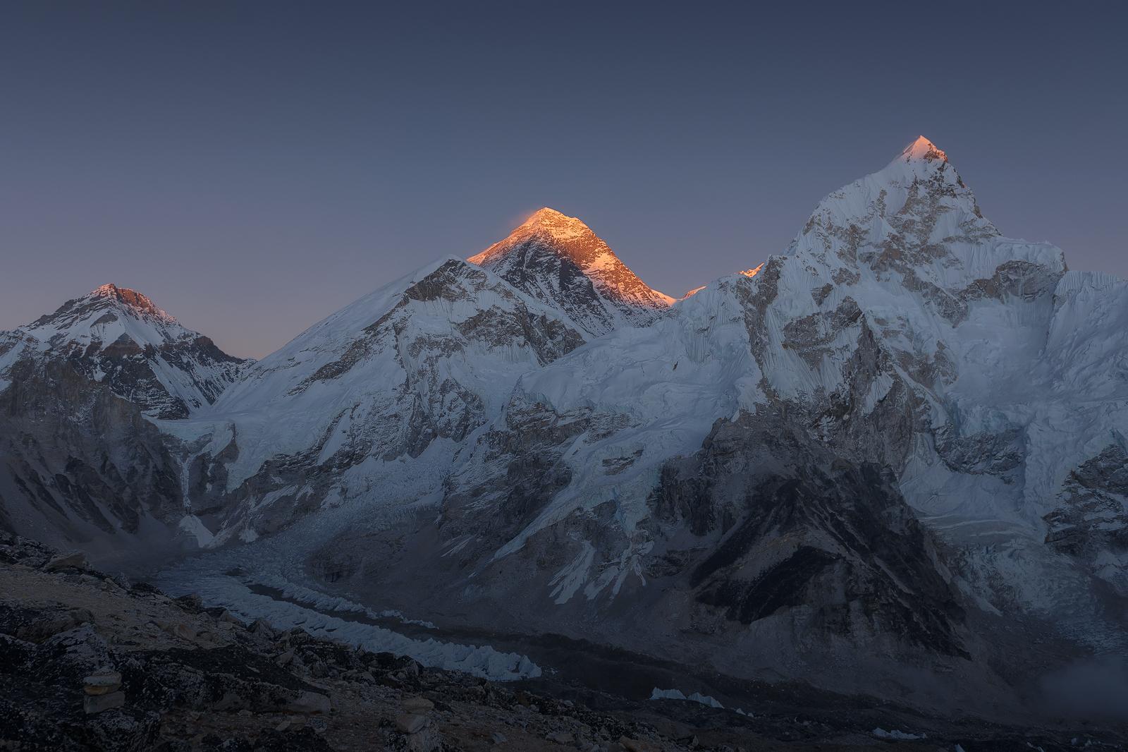 Atardecer en el Everest (Nepal)