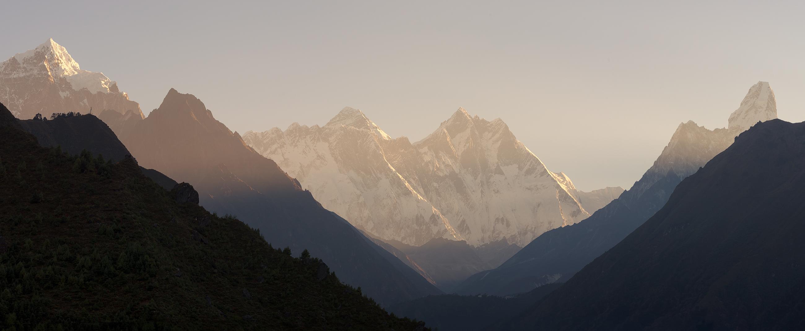 Nepal - Valle del Khumbu (Llotse, Ama Dablam y Everest)