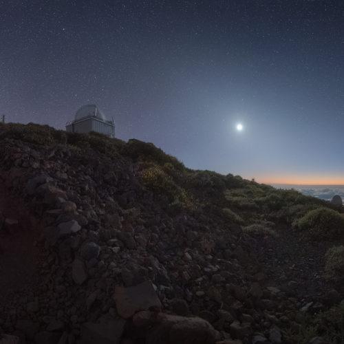 Roque de Los Muchachos Isla de La Palma